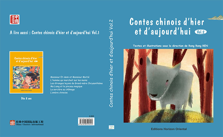 Couverture de Contes chinois d'hier et d'aujourd'hui - Volume 2
